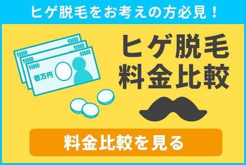 栃木・宇都宮でのヒゲ脱毛の料金を徹底的に調査、あなたに合わせたサロンを価格から比較